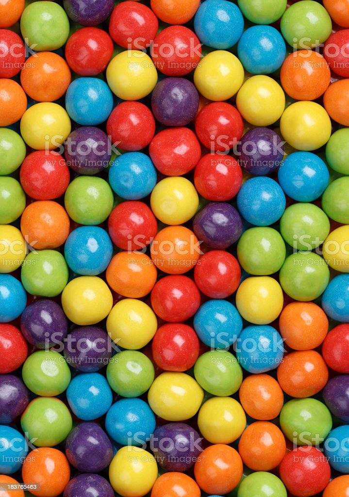 Gumballs Background - Seamless Tile royalty-free stock photo