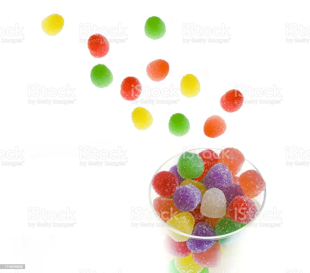 Gumdrops from Heaven! royalty-free stock photo