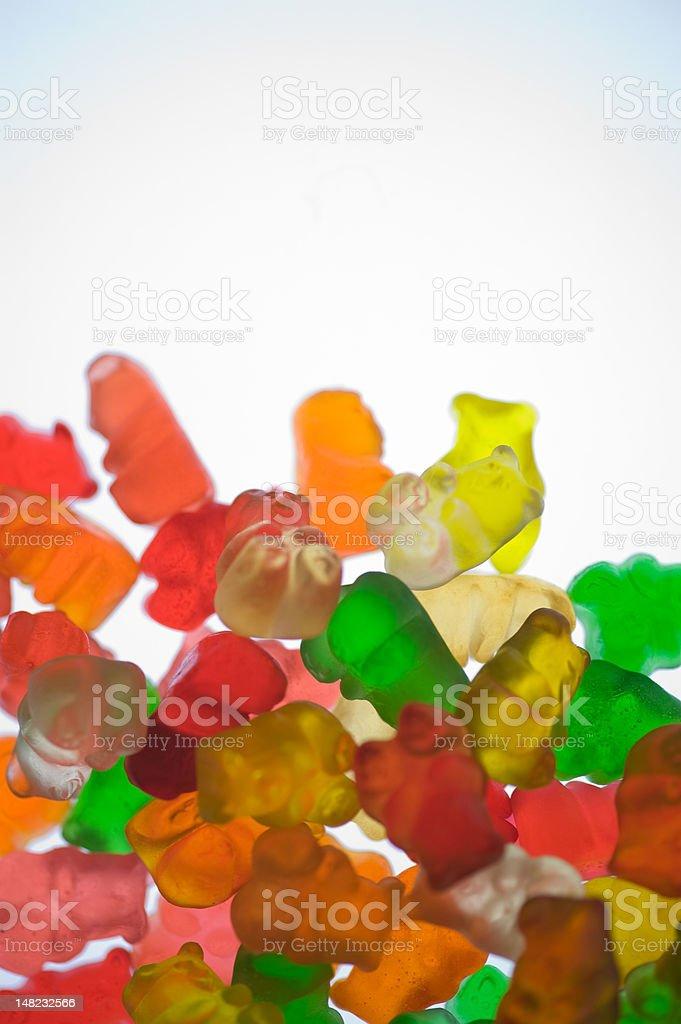 Gummi Bears Shallow Depth of Field stock photo