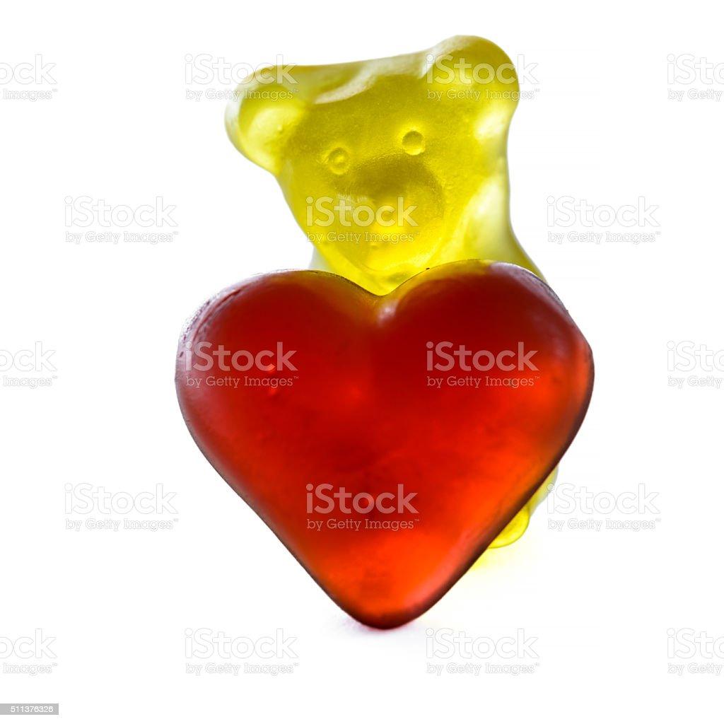gummy bear stock photo