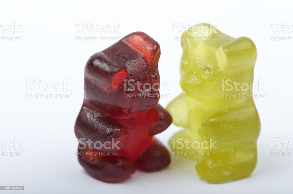 Gummy bears stock photo