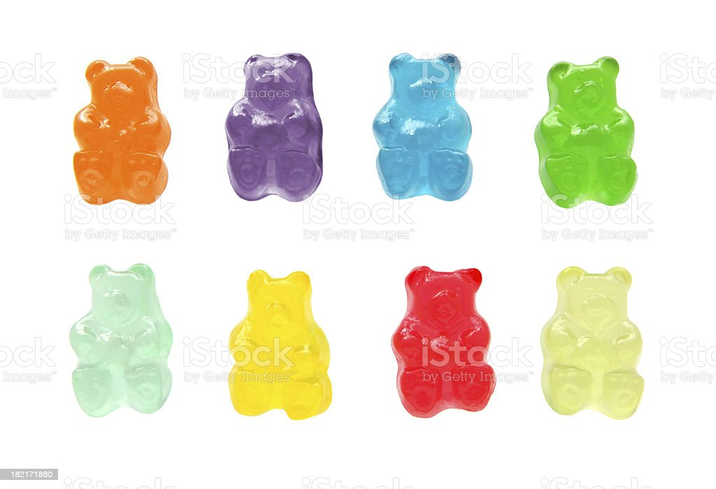 Gummy bears stock photo