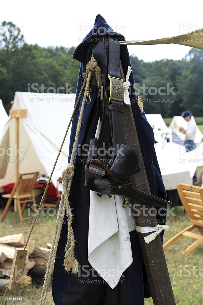 gun at rest royalty-free stock photo