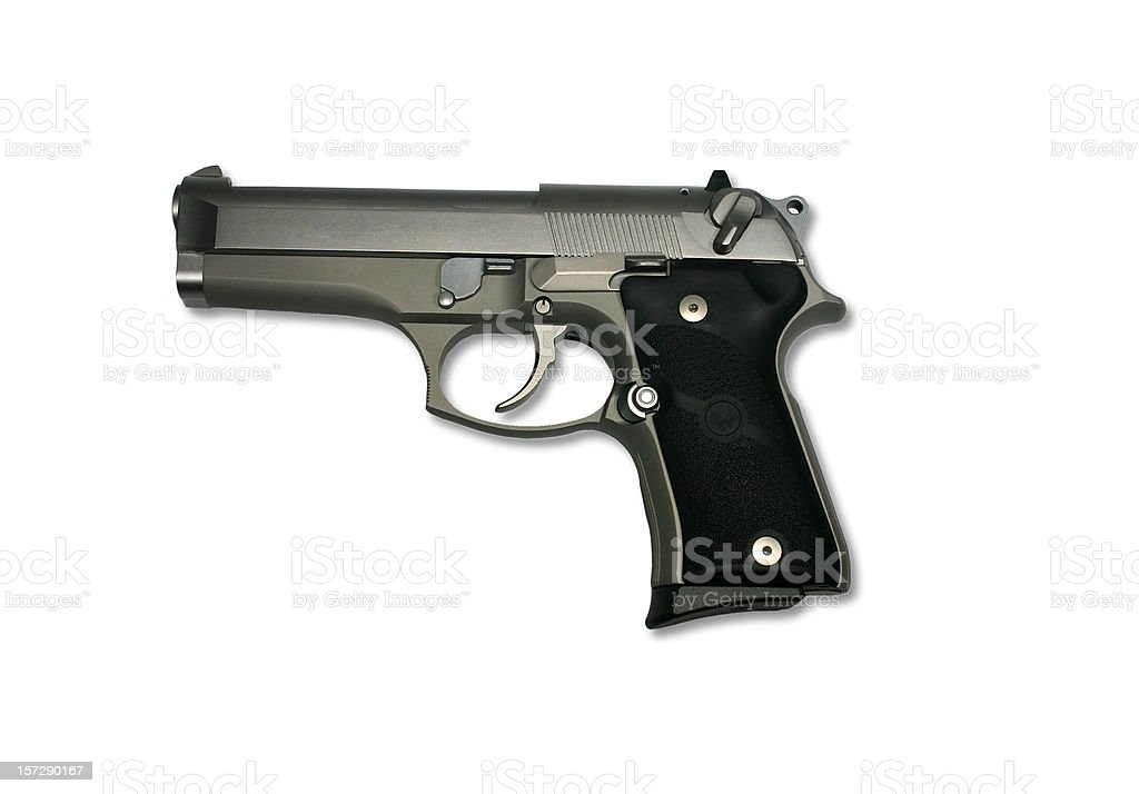 Gun - Beretta royalty-free stock photo