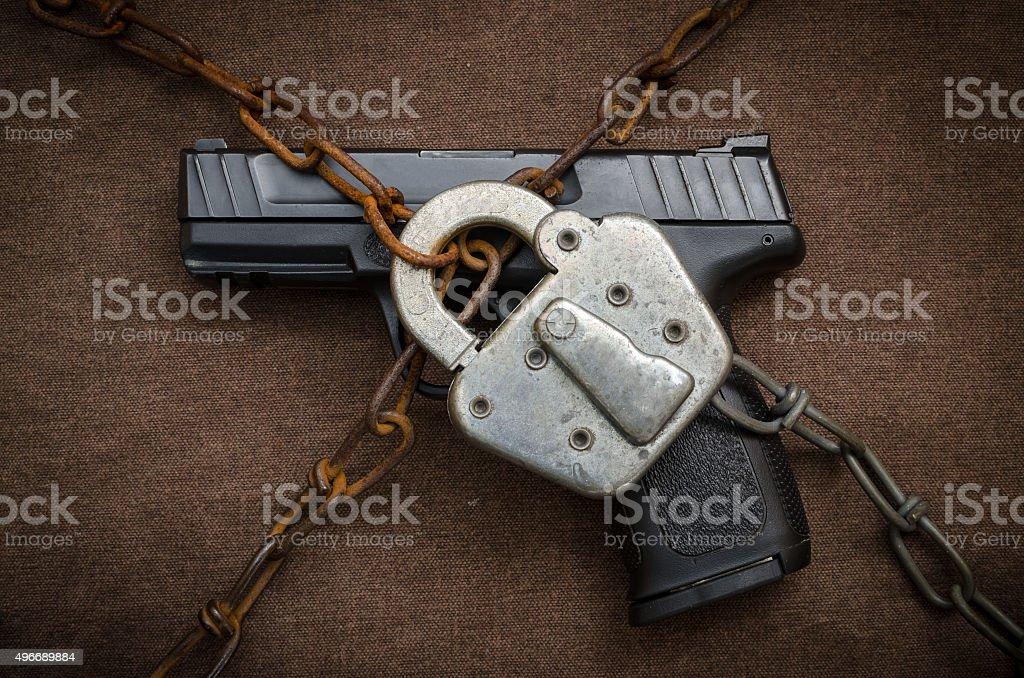 Gun Control Concept stock photo