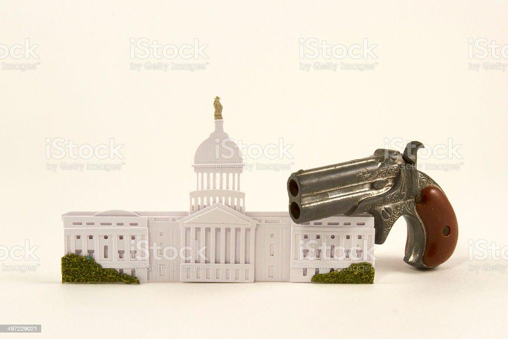 Gun Control Legislation stock photo