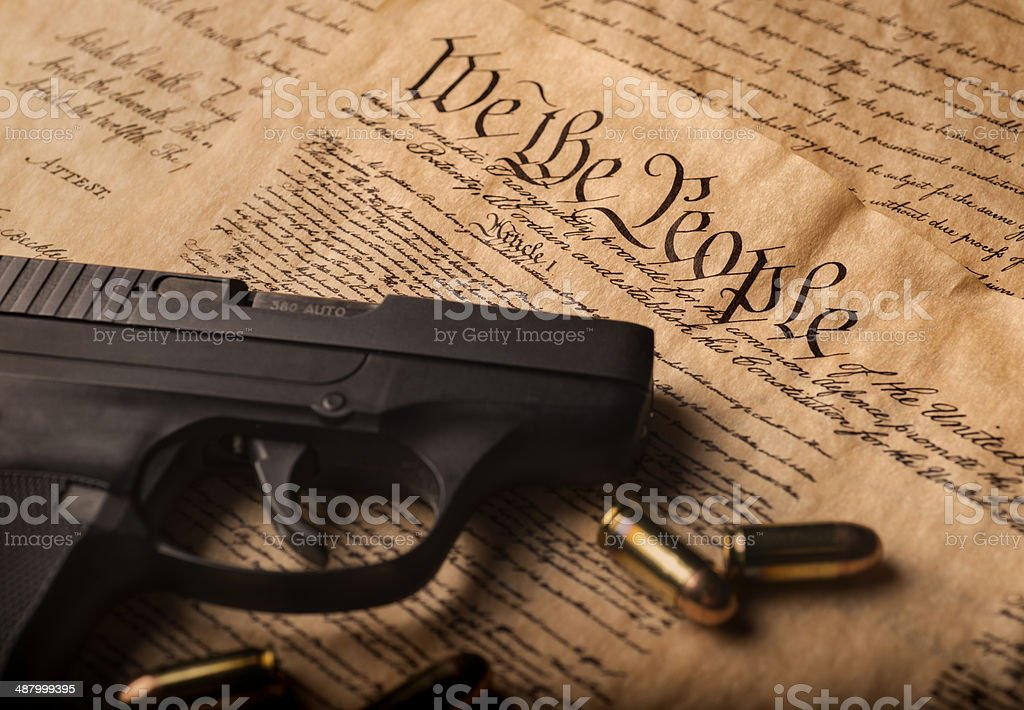 Gun Control stock photo