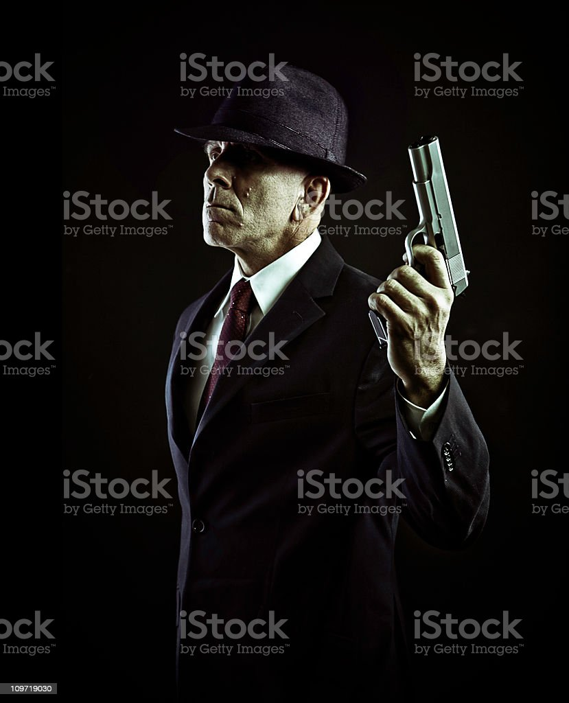gun for hire royalty-free stock photo