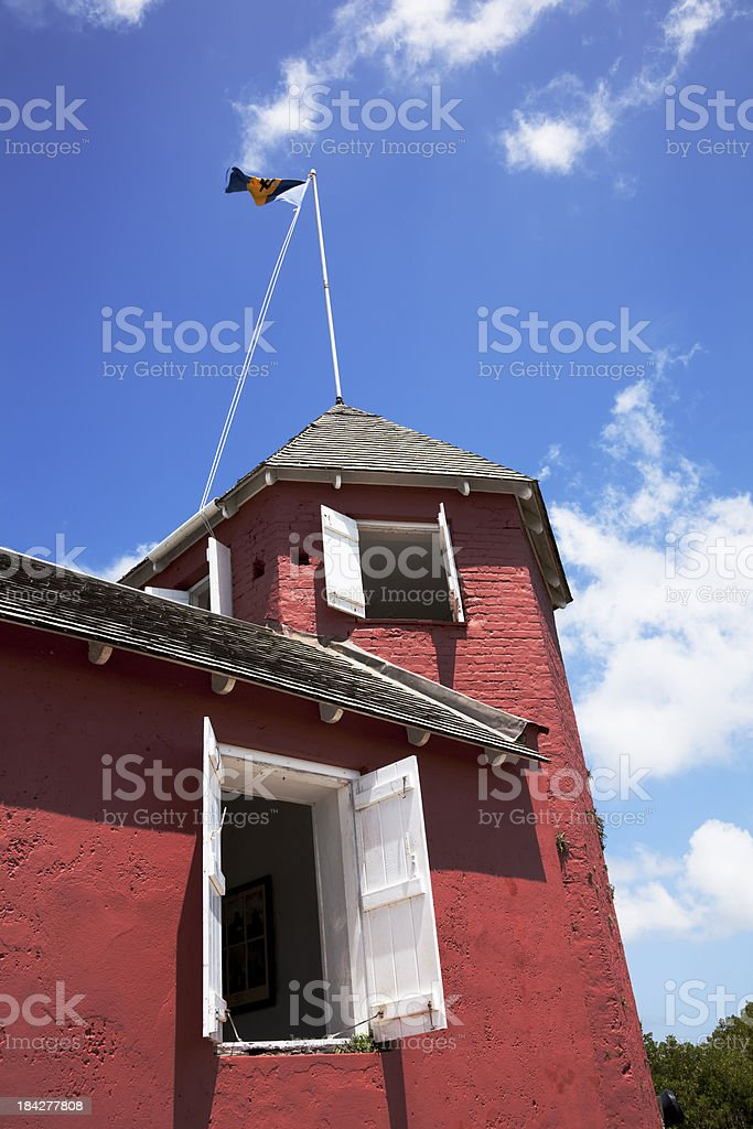 Gun Hill Signal Station, Barbados stock photo