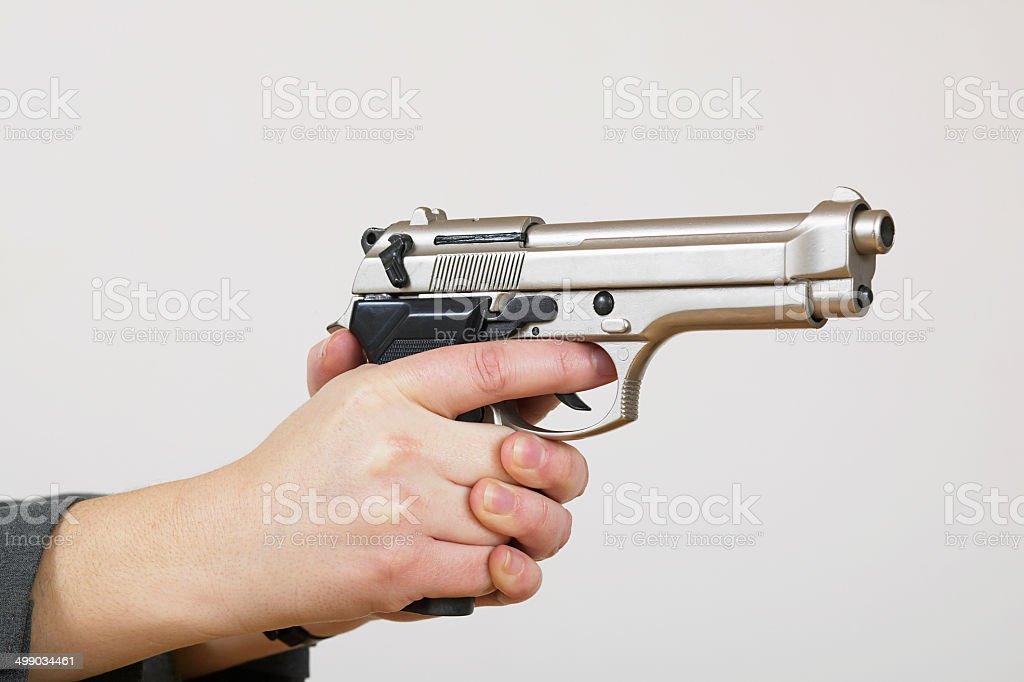 Arme un womans mains photo libre de droits