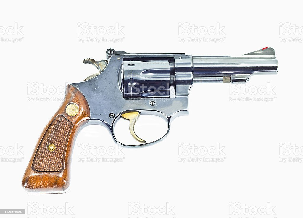 gun isolated royalty-free stock photo