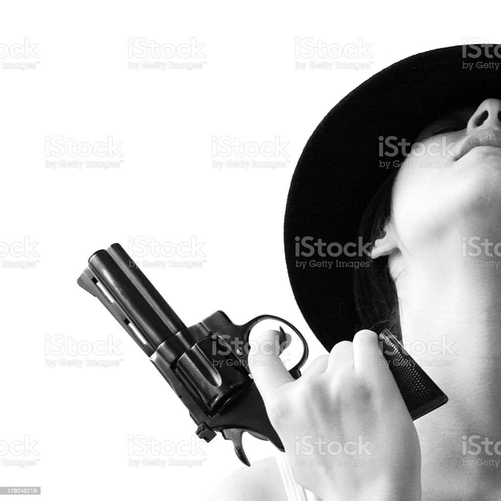 Gun love royalty-free stock photo