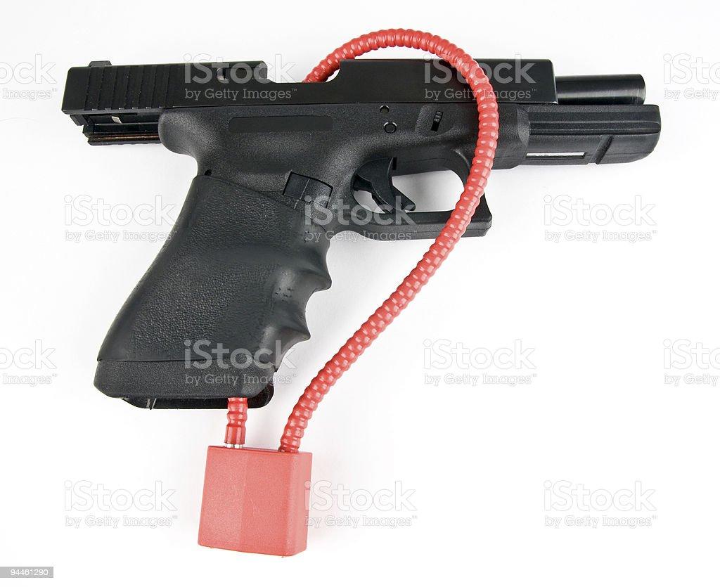 Gun Safety stock photo