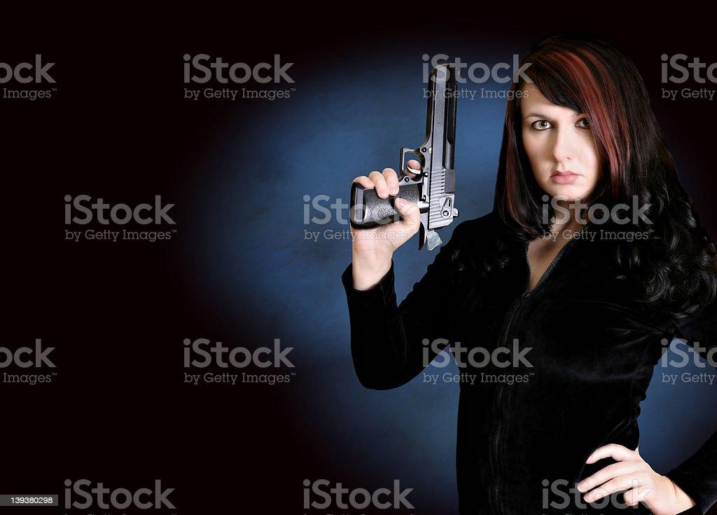 Gun Series - Invincible royalty-free stock photo