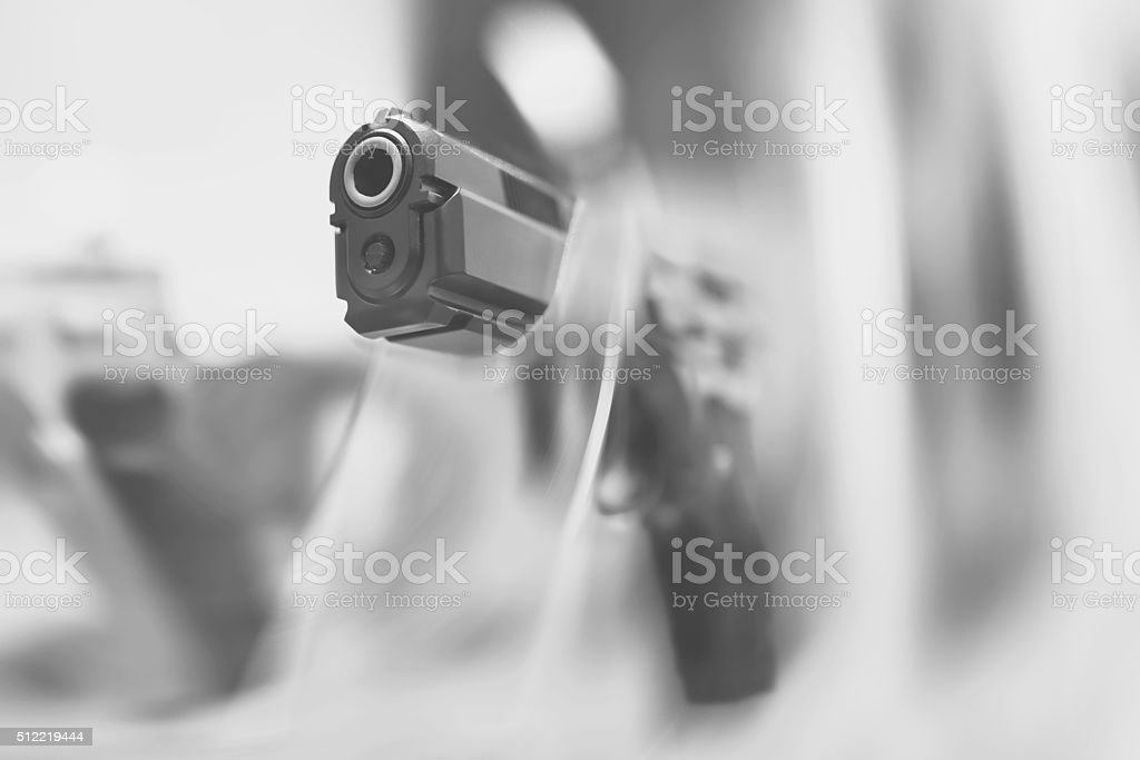 Gun Shop stock photo