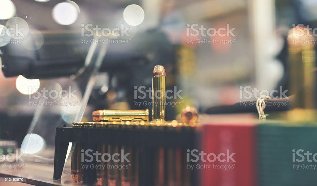 Gun Store stock photo