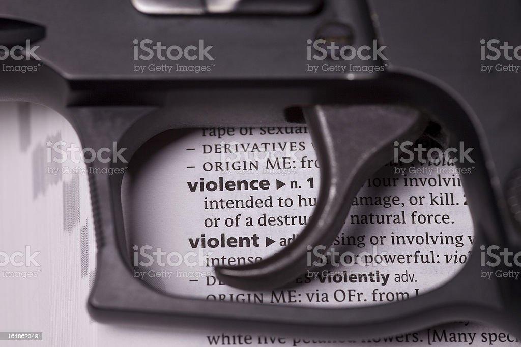 Gun Violence stock photo