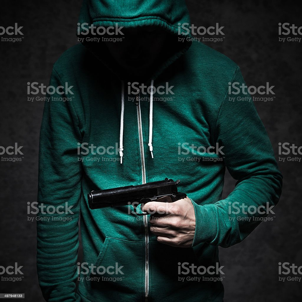 Gun Violence Student Shooting stock photo