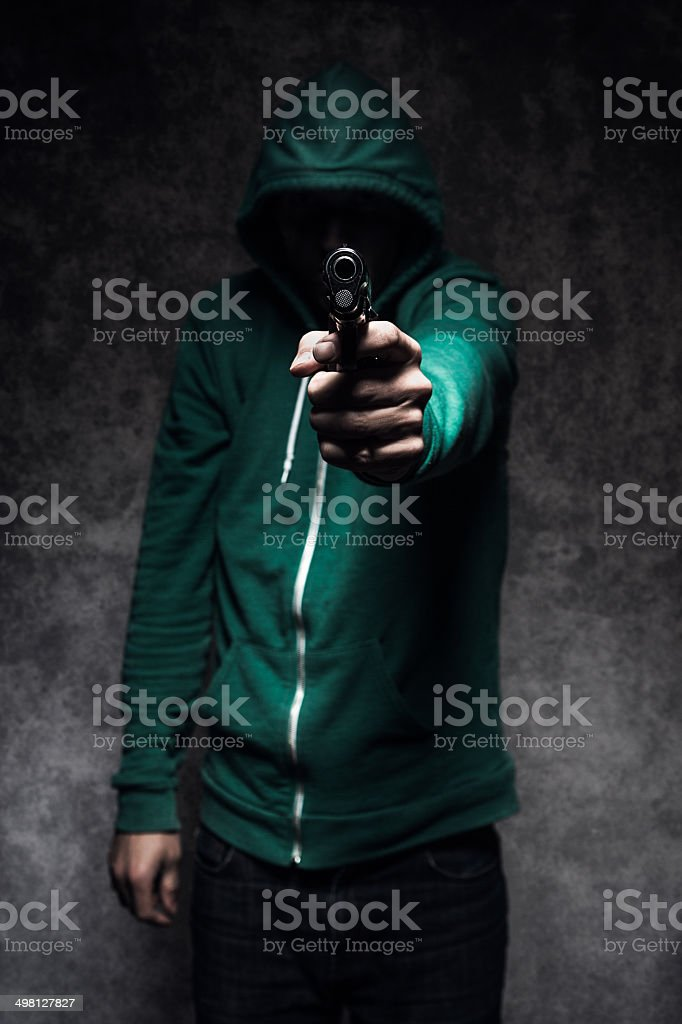 Gun Violence Student Shooting stock photo