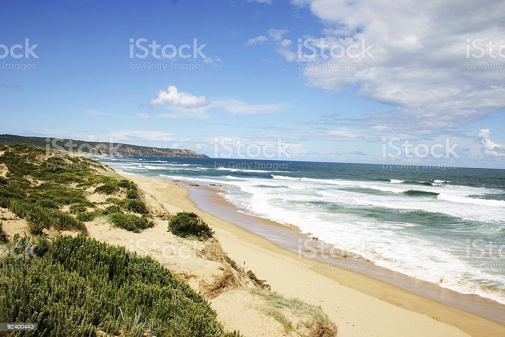 gunamatta beach royalty-free stock photo