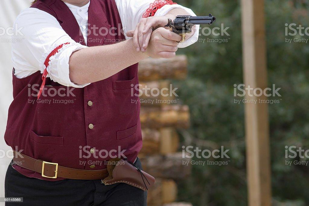 gunfight4 stock photo