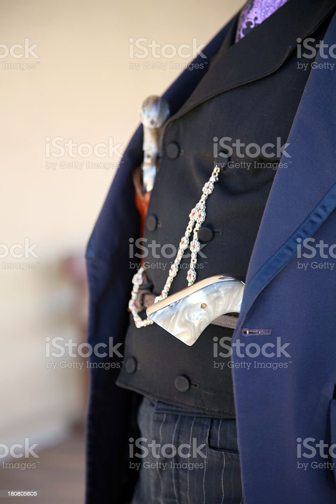 Gunfighter royalty-free stock photo