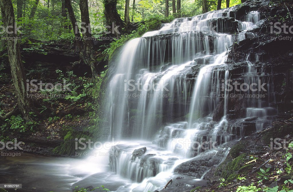 Gunn Brook Falls stock photo