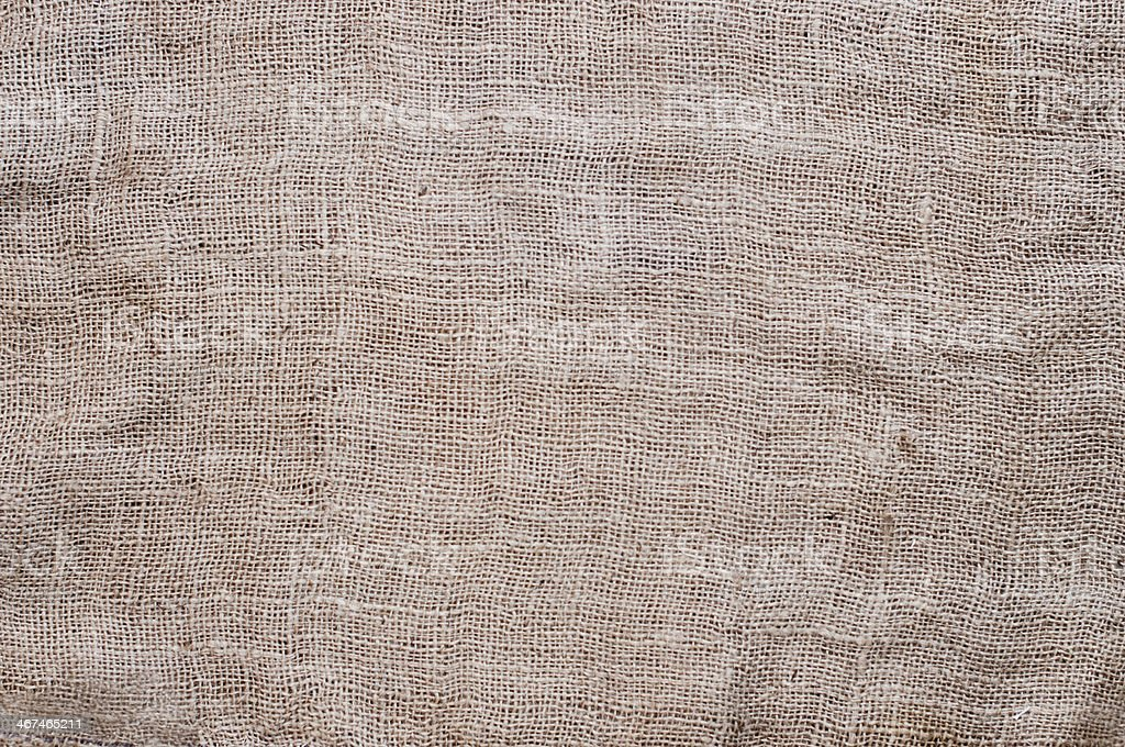Gunny fabric royalty-free stock photo