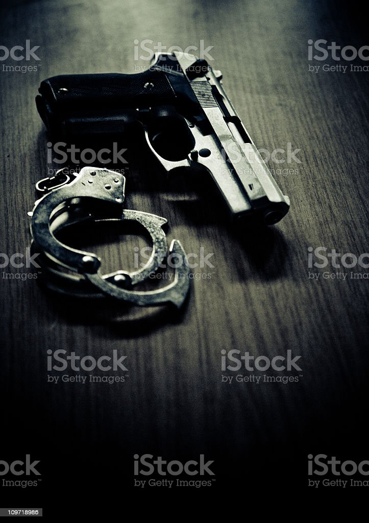 guns and no roses stock photo