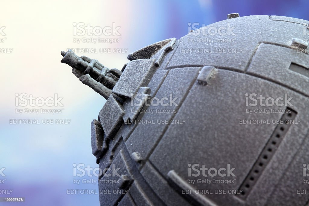 Guns of Hoth stock photo