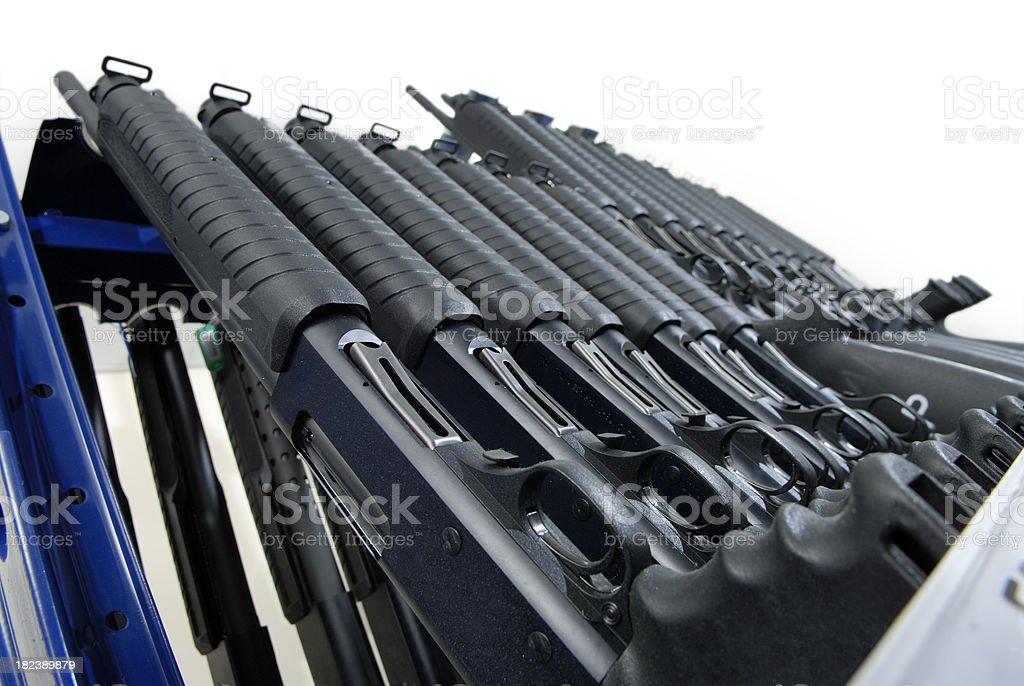 Guns royalty-free stock photo