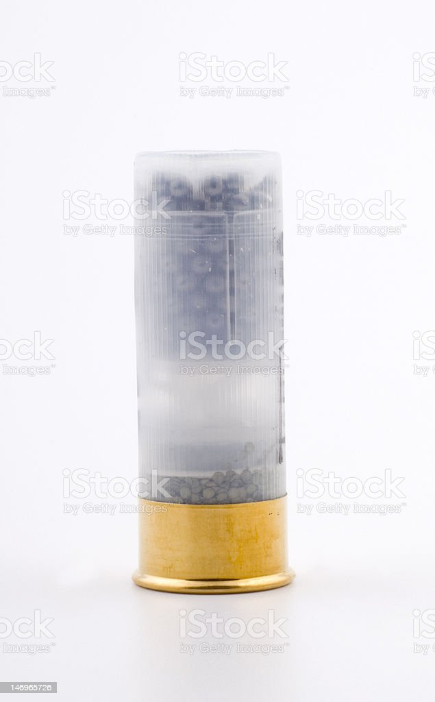 gunshot cartridge stock photo