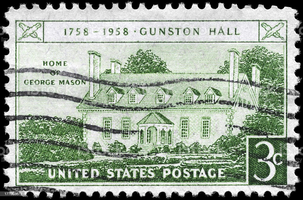 Gunston Hall stock photo