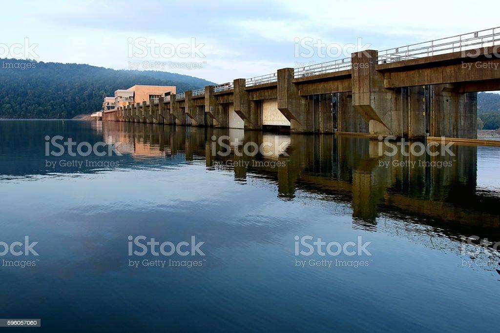 Guntersville Dam stock photo