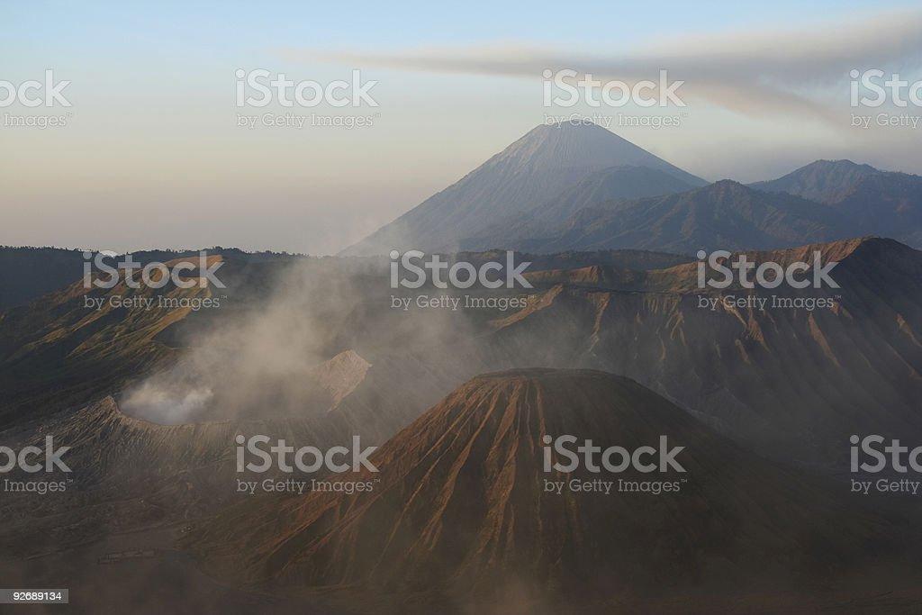 gunung bromo volcanos royalty-free stock photo