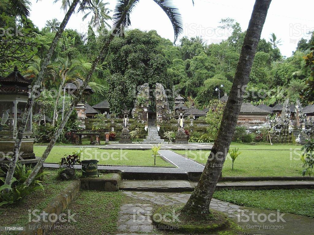 Gunung Kawi temple, Bali - Indonesia royalty-free stock photo
