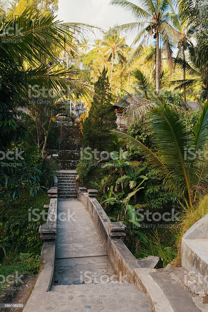 Gunung kawi temple in Bali, Indonesia, Asia stock photo