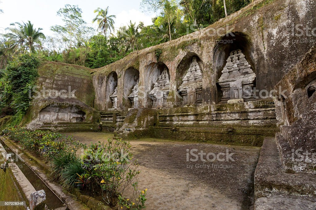 Gunung kawi temple in Bali stock photo