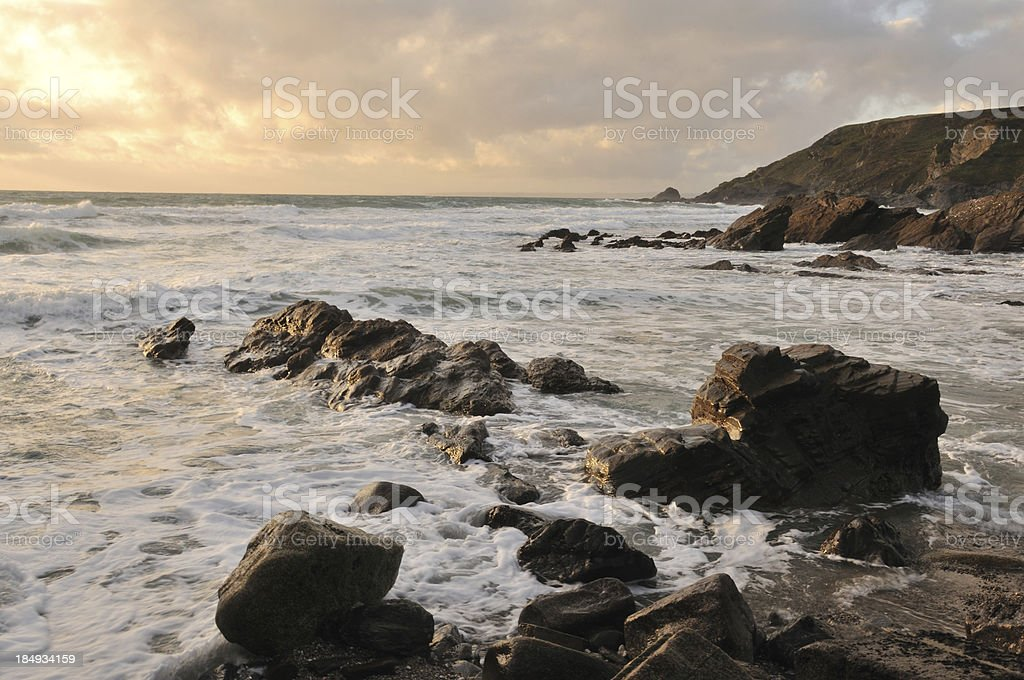 Gunwalloe. stock photo