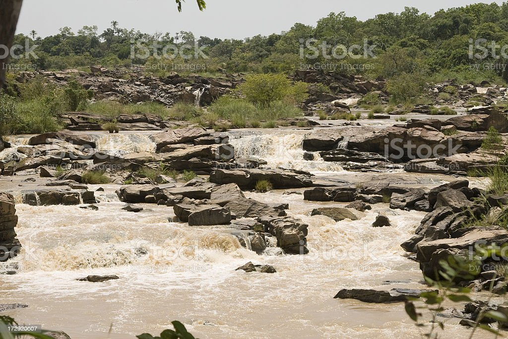 Gurara Falls, Nigeria stock photo