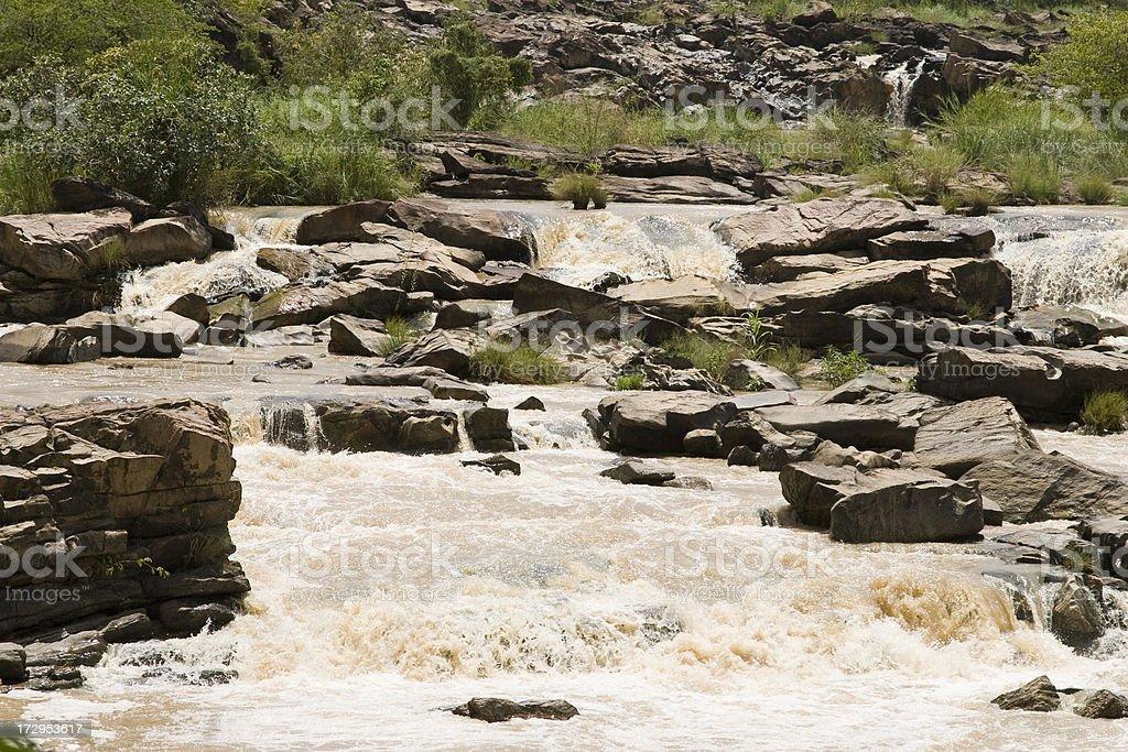 Gurara Falls stock photo