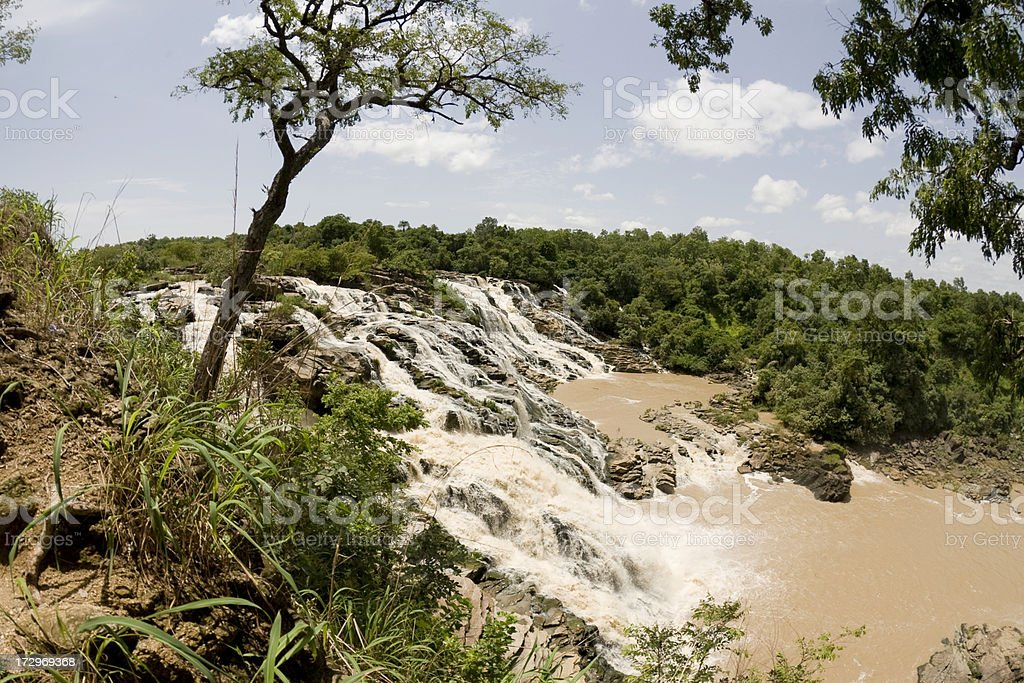 Gurara Falls royalty-free stock photo
