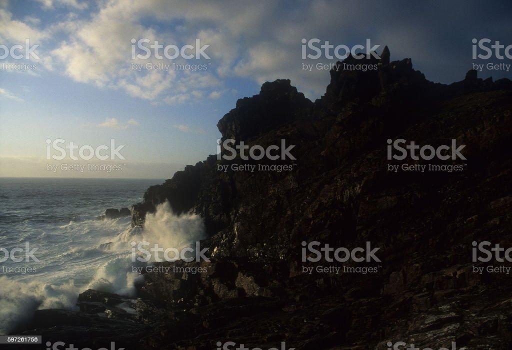 Gurnard's Head Cornwall stock photo