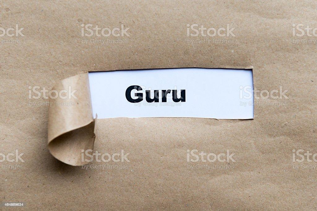 guru stock photo