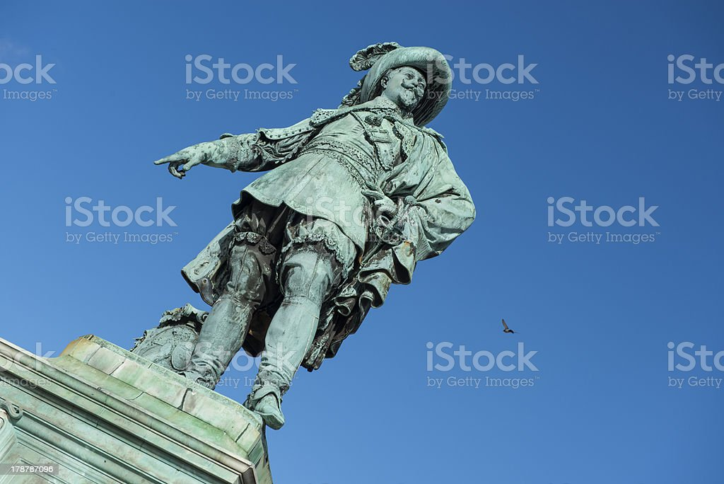Gustav Adolfs Square stock photo