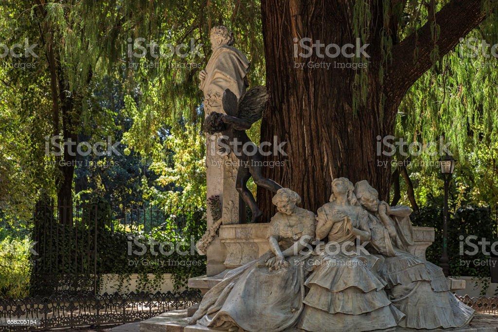 Gustavo Adolfo Becquer stock photo