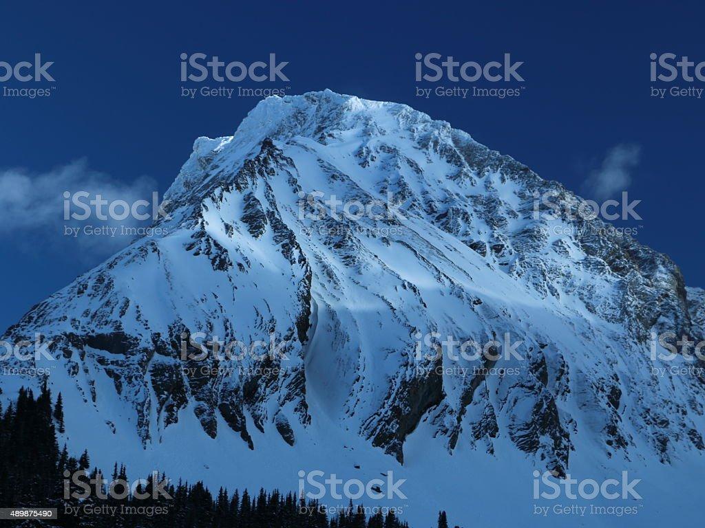 Gusty Peak stock photo