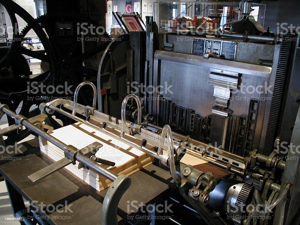 Gutenberg museum 1 stock photo