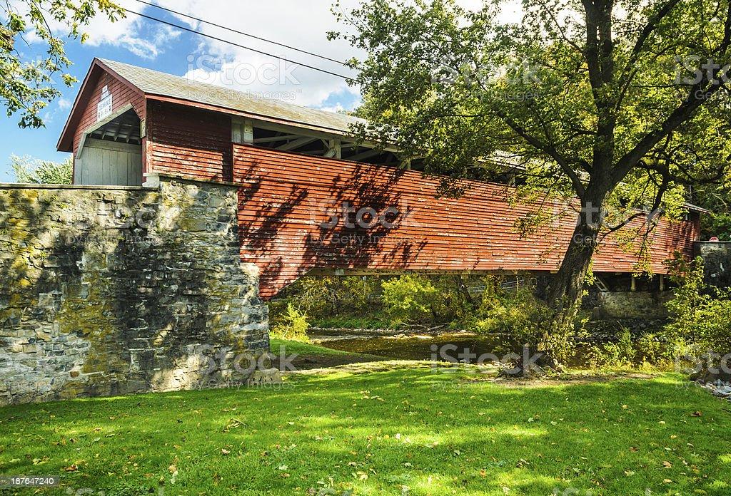 Guth's Bridge stock photo