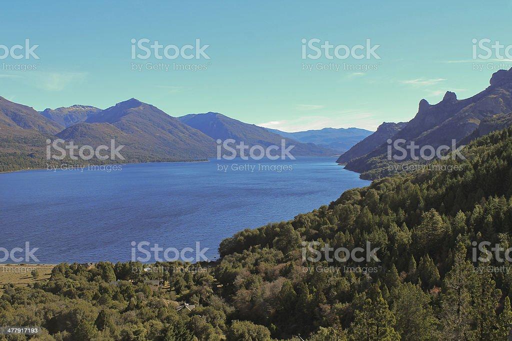 Gutierrez Lake royalty-free stock photo
